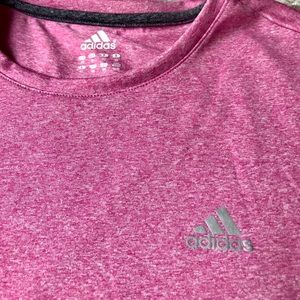 Women's Short Sleeve Adidas Athletic Shirt